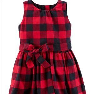 🆕 Carter's •  Holiday • dress 🎄